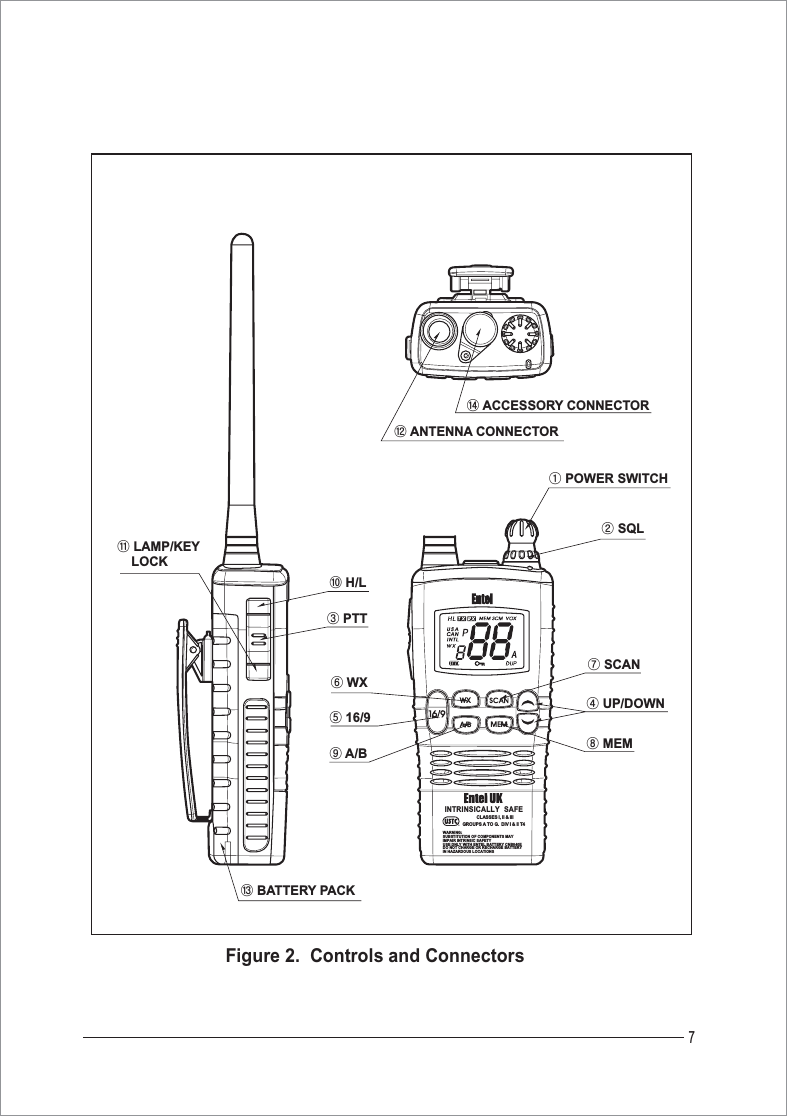 Entel UK HT840 Hand held marine radio User Manual 01p1
