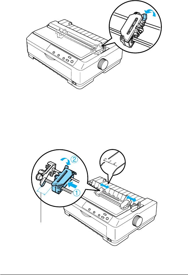 Epson LONG Manual De Referencia FX 890 / 2190 Epson8081eu