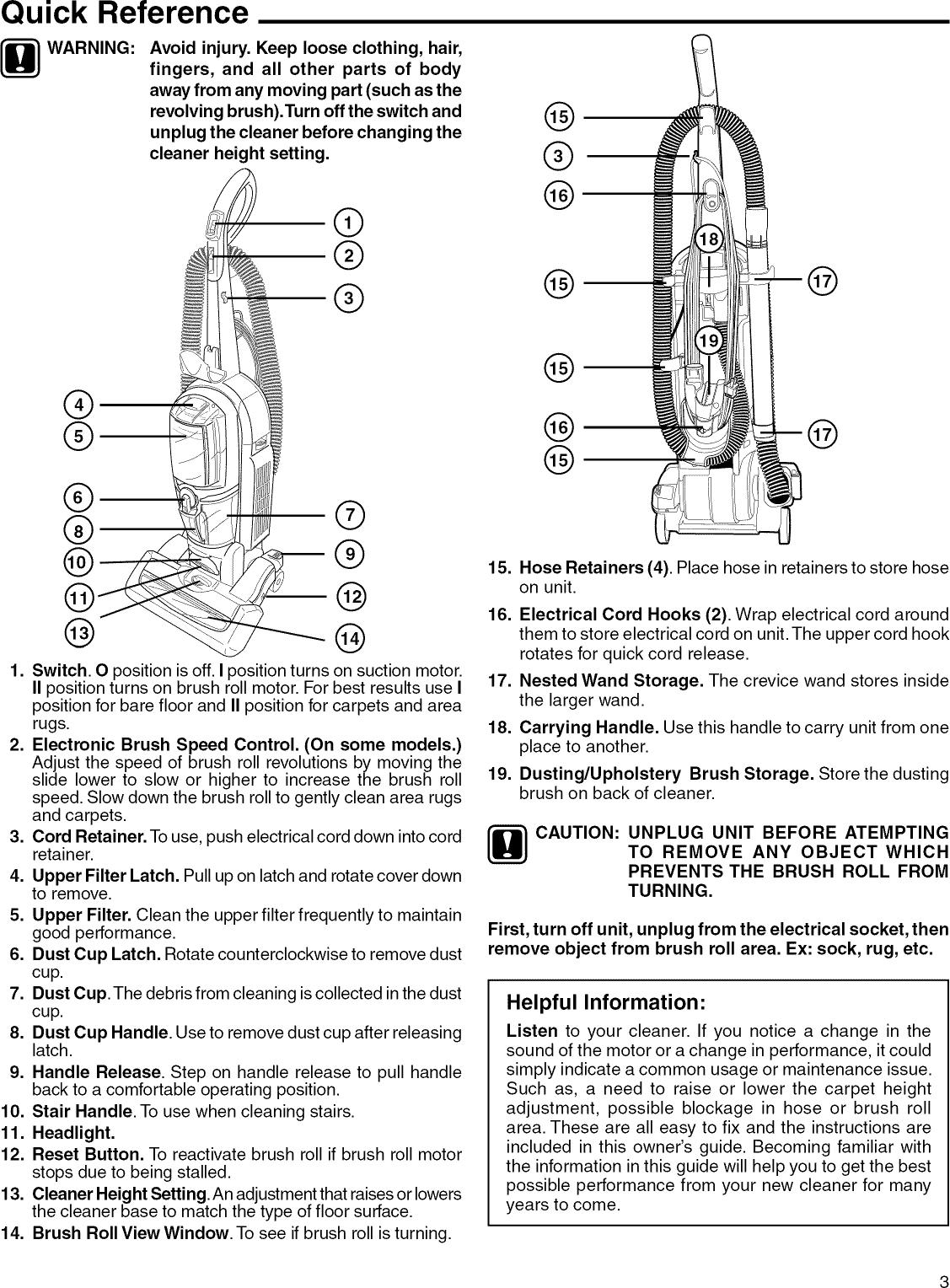Eureka 5892AVZ User Manual VACUUM Manuals And Guides L1002513