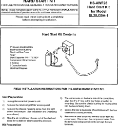 air conditioner hard start kit wiring diagram [ 1066 x 1434 Pixel ]
