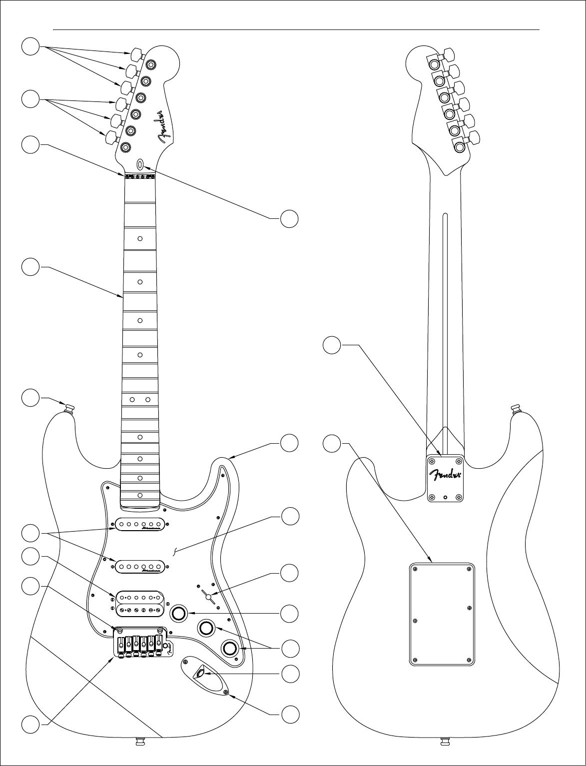 Fender 010 1190 92C SISD
