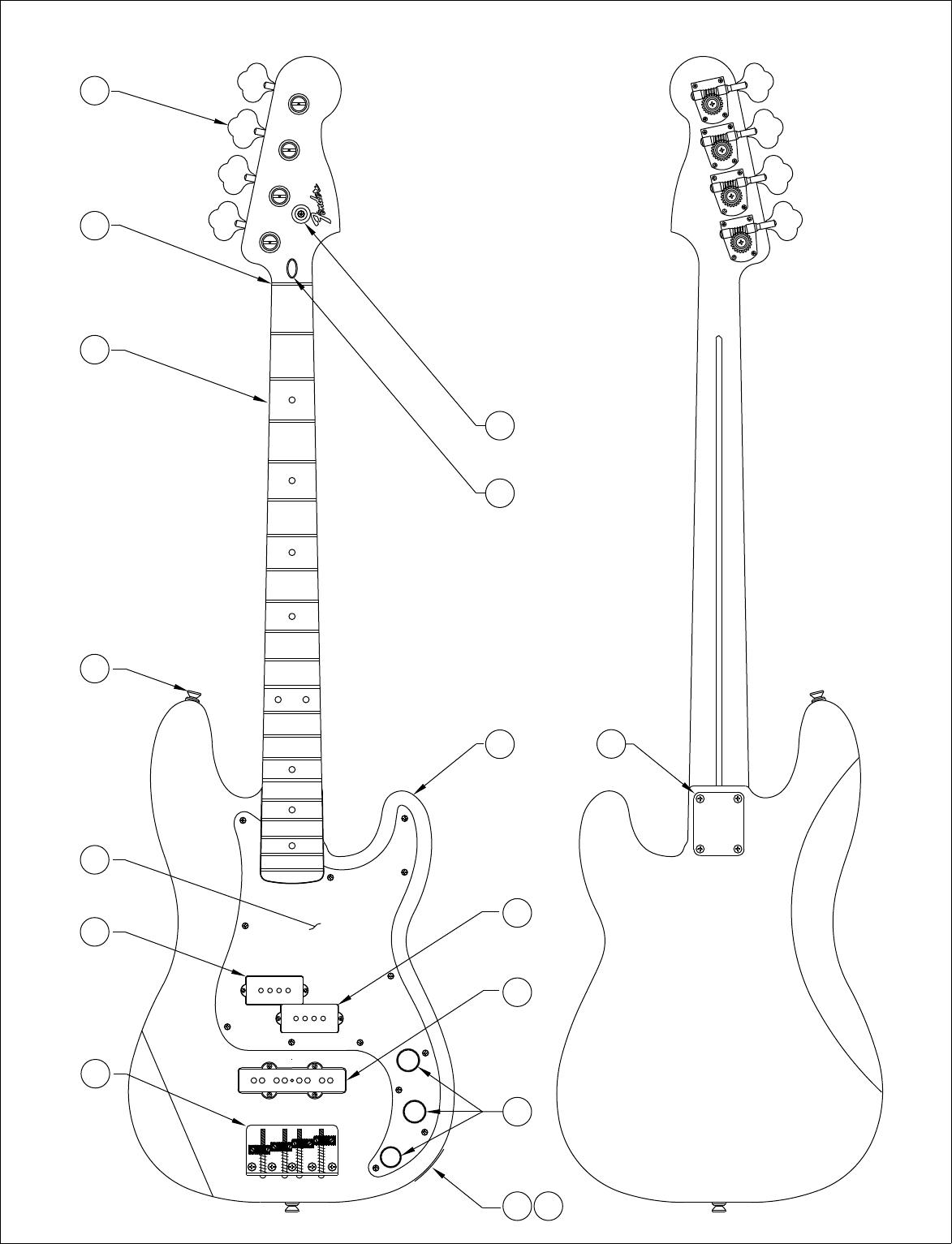 Fender 013 5700 02B SISD