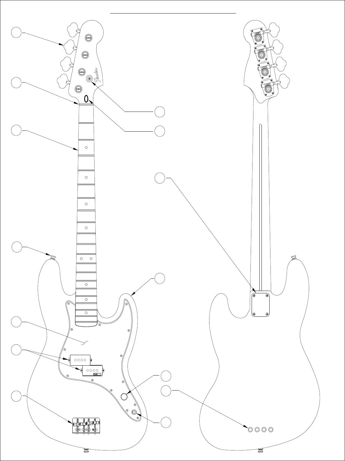Fender 013 8300A SISD