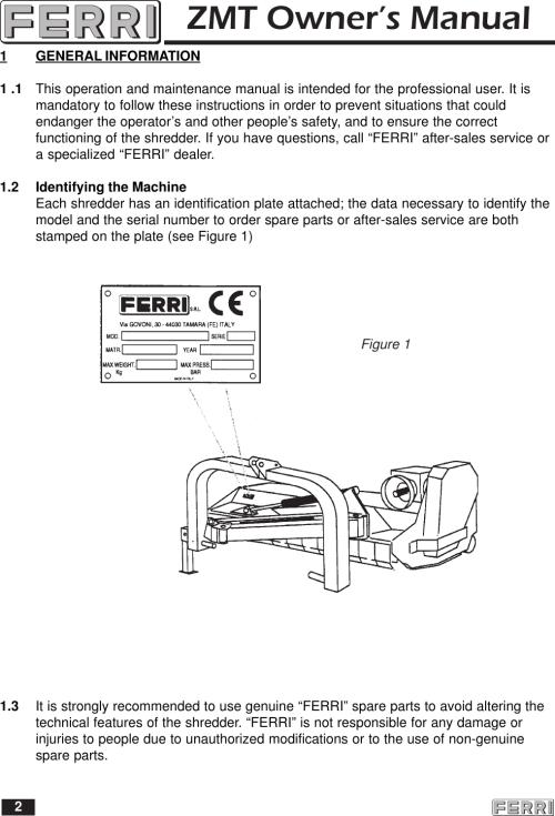 small resolution of ferri mower wiring diagram