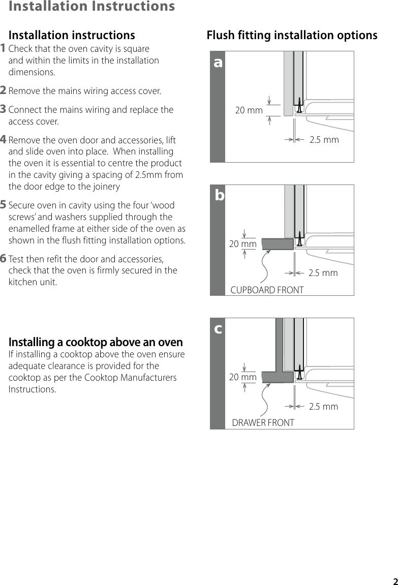 oven wiring diagram nz pv fisher and paykel au bi602cte users manual 541768c bicombo inst page 3 of 8