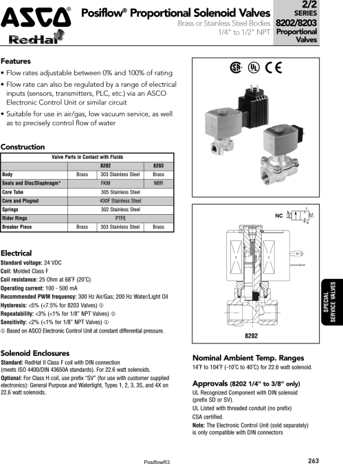 small resolution of  flow asco posiflow 1505492470 posiflowr3 user manual asco din connector wiring diagram on