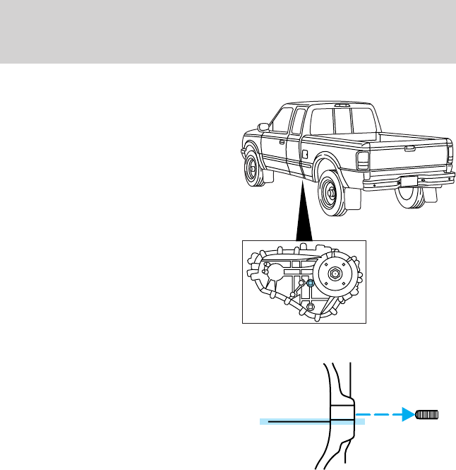 Ford 2003 Ranger Owners Manual