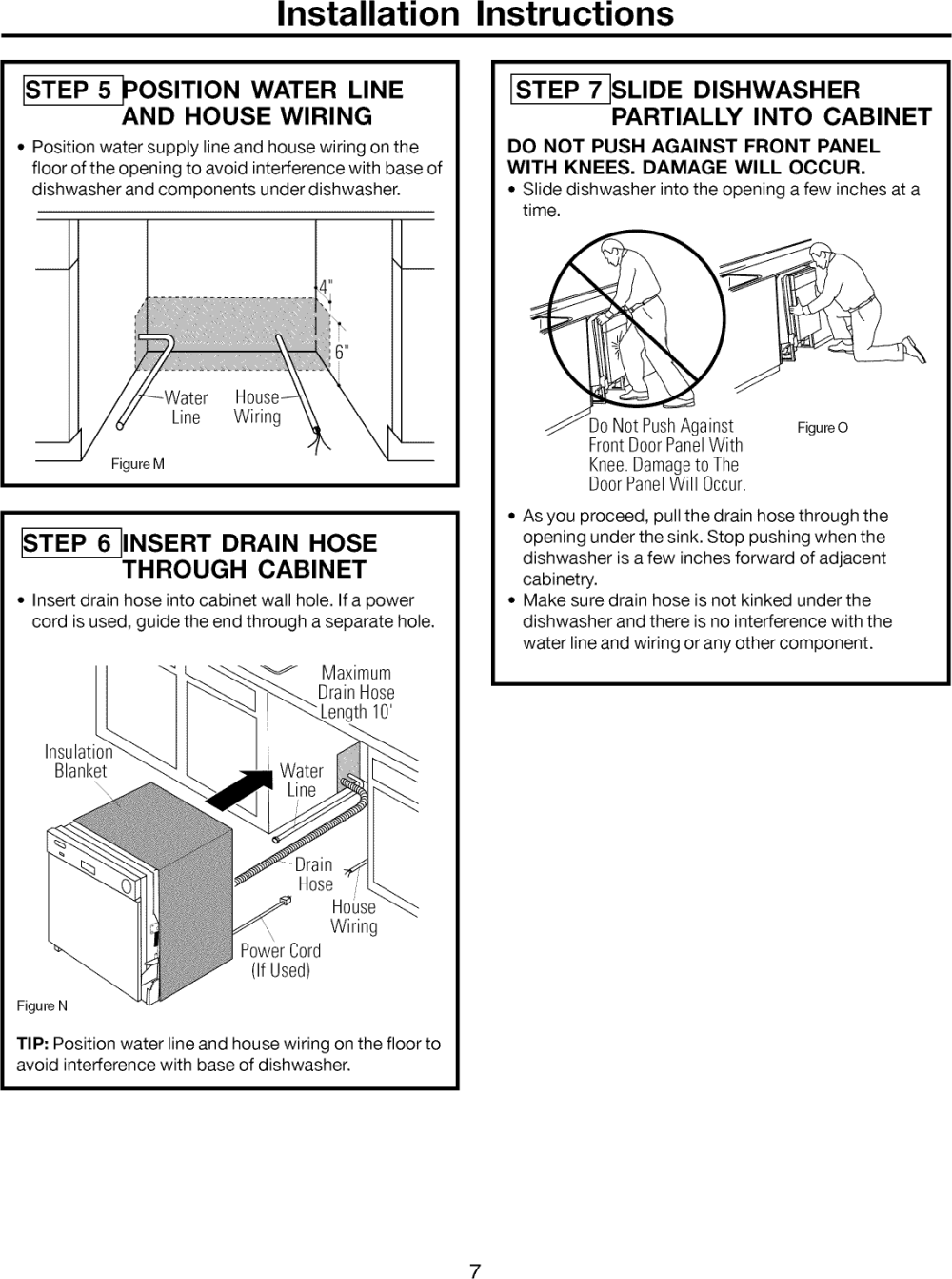 medium resolution of page 7 of 12 frigidaire ffbd1821ms1b user manual dishwasher manuals and guides 1108343l