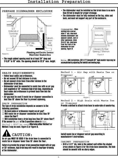 small resolution of page 3 of 12 frigidaire fmb330rgs0 user manual dishwasher manuals and guides l0709007