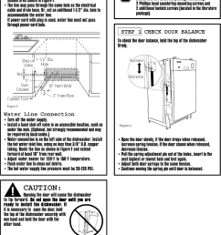 page 5 of 12 frigidaire fmb330rgs0 user manual dishwasher manuals and guides l0709007 [ 1128 x 1512 Pixel ]