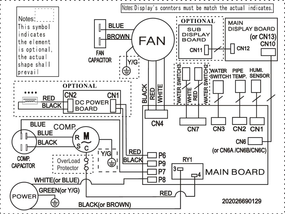 medium resolution of frigidaire fad504dwd wiring diagram elus cfz1 0bd n1 fa d 05 mp 1fa wiring diagram