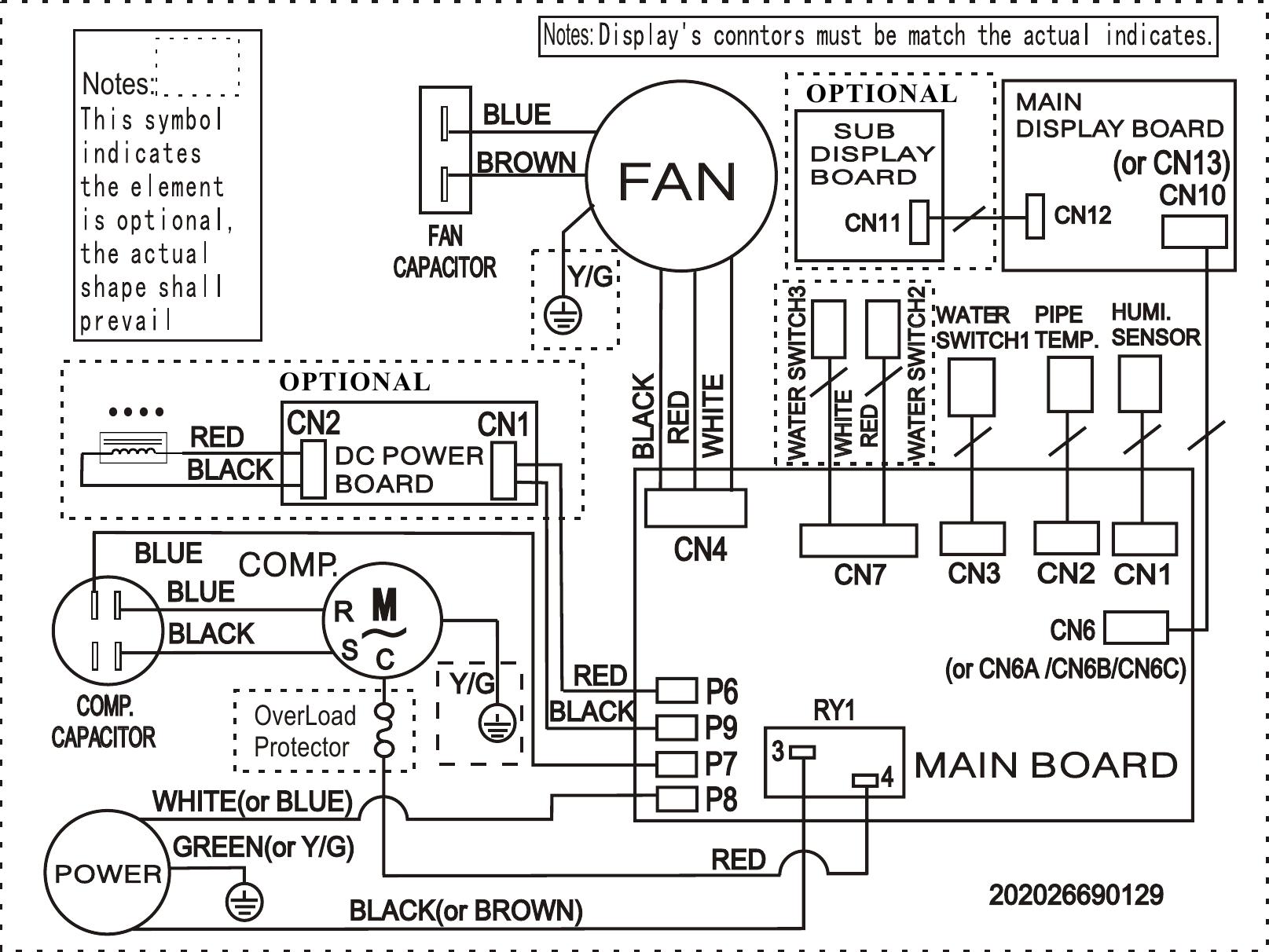hight resolution of frigidaire fad504dwd wiring diagram elus cfz1 0bd n1 fa d 05 mp 1fa wiring diagram