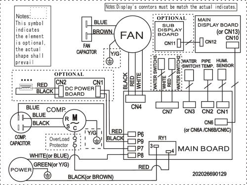 small resolution of frigidaire fad504dwd wiring diagram elus cfz1 0bd n1 fa d 05 mp 1fa wiring diagram