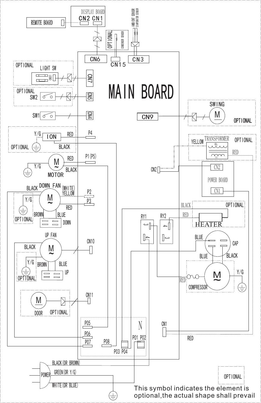 Frigidaire Ffpa1222R1 Wiring Diagram EU KCD35Y1$N1 PD(B6