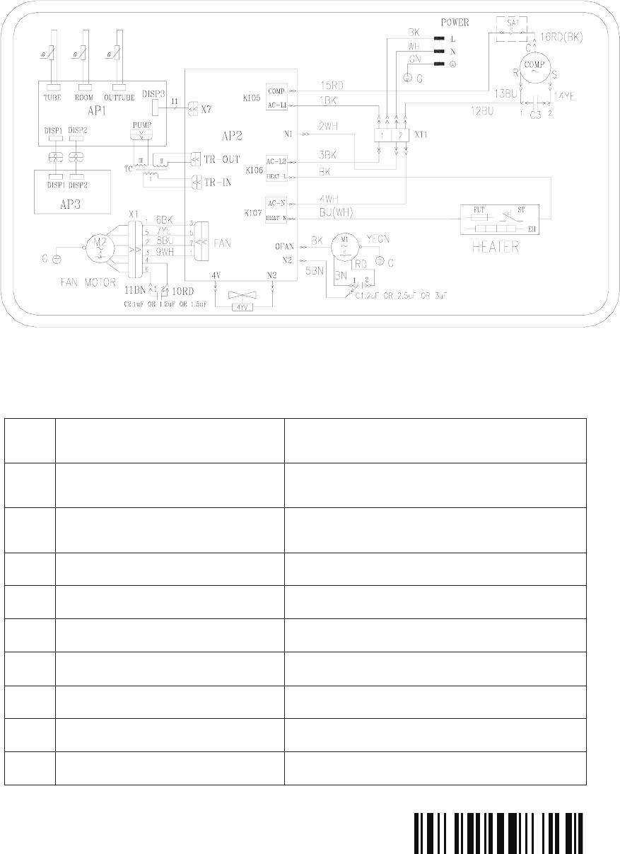 medium resolution of frigidaire heat pump wiring diagram