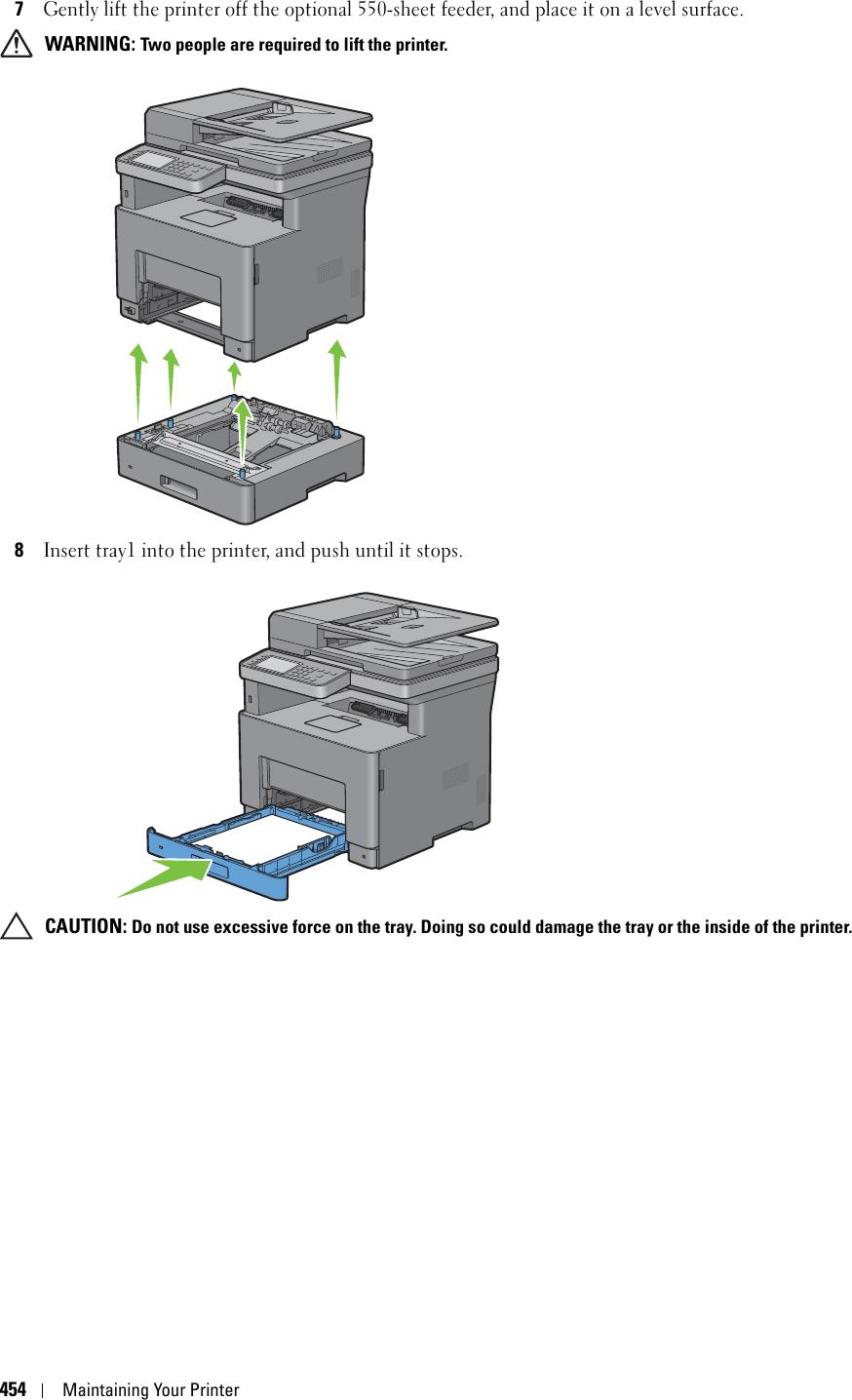 Fuji Xerox H815DW Multifunction Laser Printer User Manual