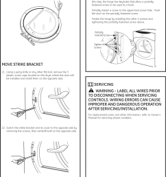 page 11 of 12 ge dbvh520ej3ww user manual electric dryer manuals and guides l0908200 [ 1161 x 1560 Pixel ]