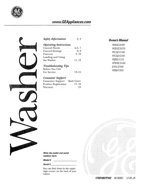 small resolution of ge washer schematic