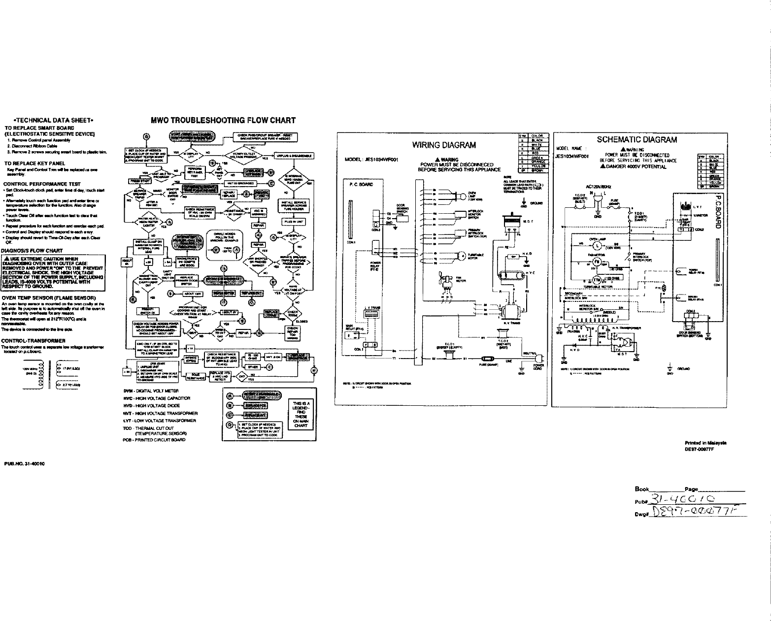 Ge Microwave Schematic