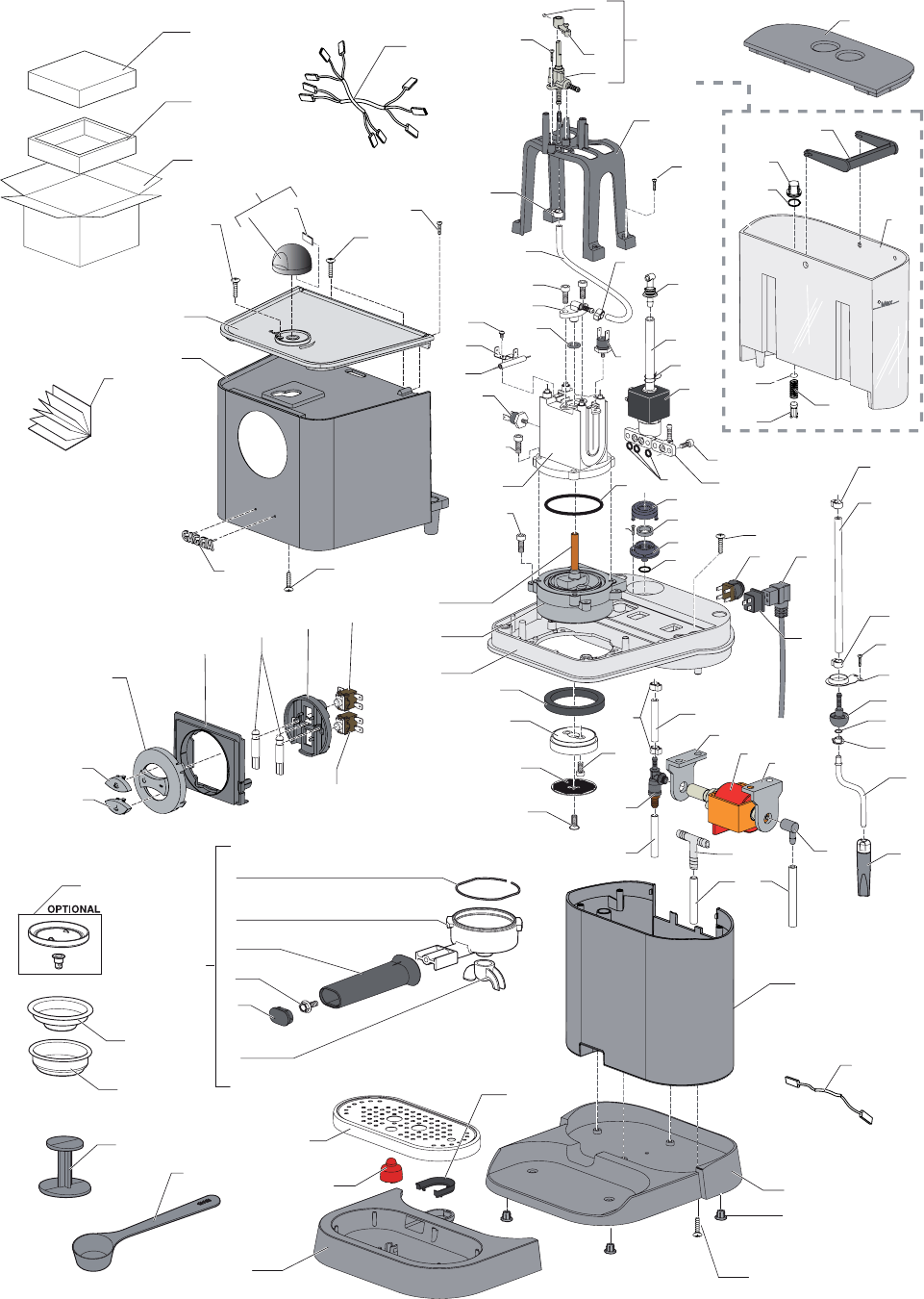 Gaggia Baby Class Parts Diagram User Manual