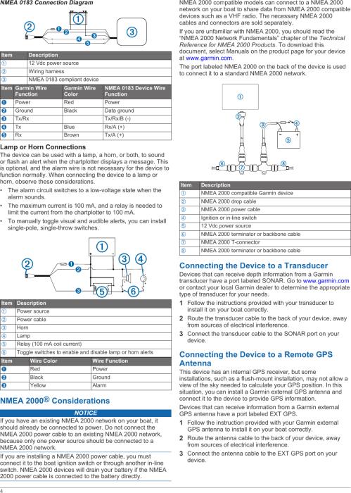 small resolution of page 4 of 6 garmin garmin gpsmap 547xs installation instructions