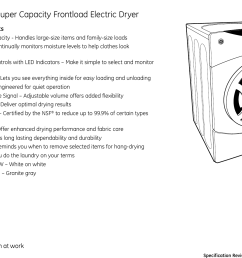 page 4 of 4 ge appliances ge appliances dbvh512ef users  [ 1520 x 1107 Pixel ]