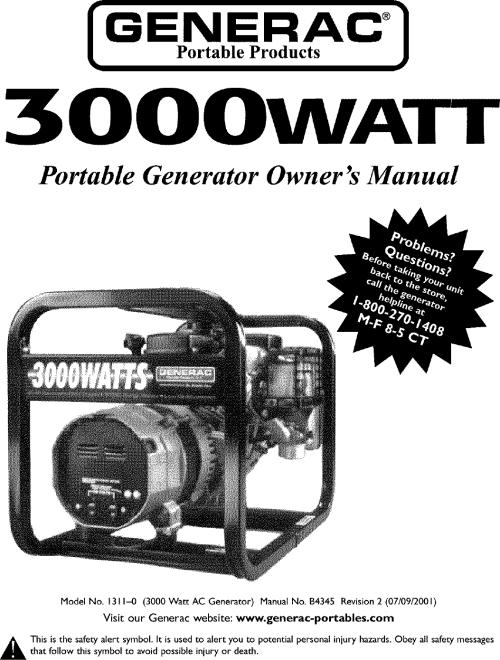 small resolution of generac generator specification