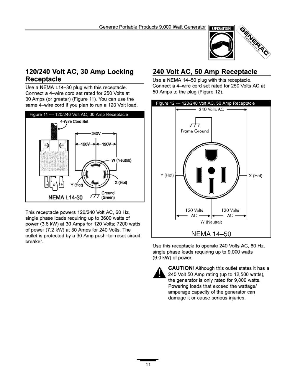 medium resolution of generacportableproducts9 000wattgenerator 120 240 volt
