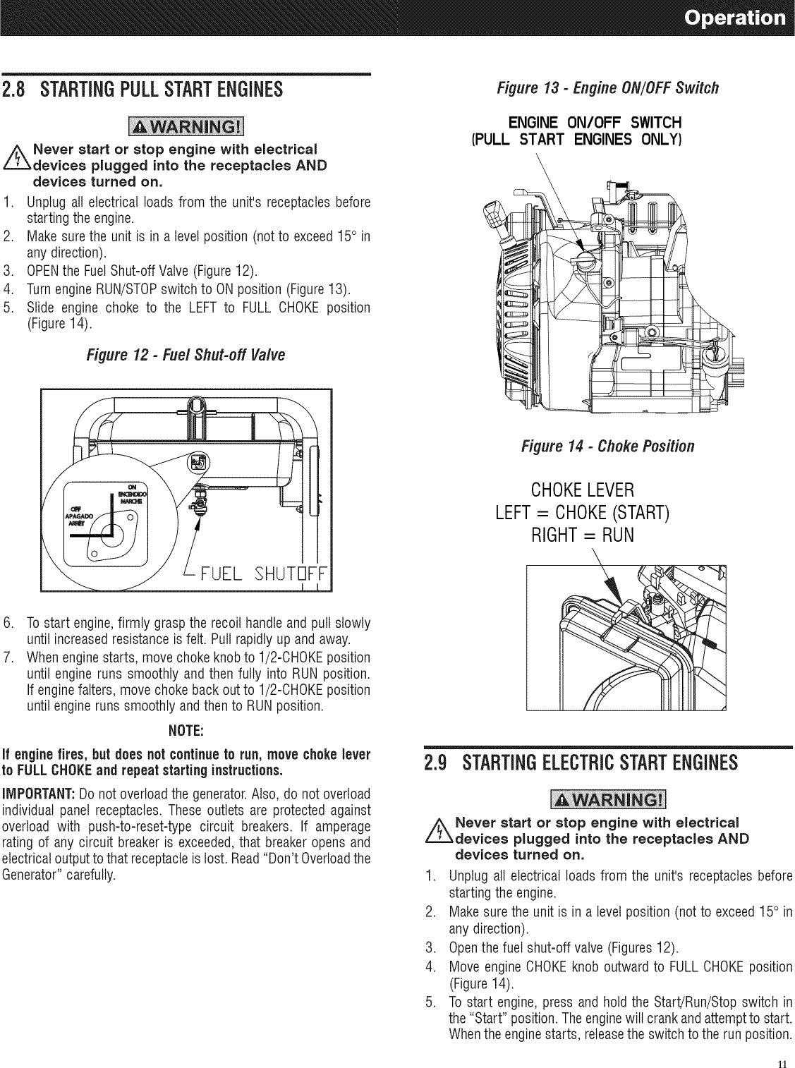 hight resolution of pull start engine diagram