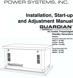generac 04077 01 04109 1 04079 00789 00844 owners manual guardian 6 8 10kw air cooled standby generators owner s c4219 [ 1123 x 1488 Pixel ]