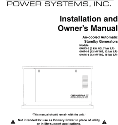 generac standby generator installation guide [ 1123 x 1481 Pixel ]