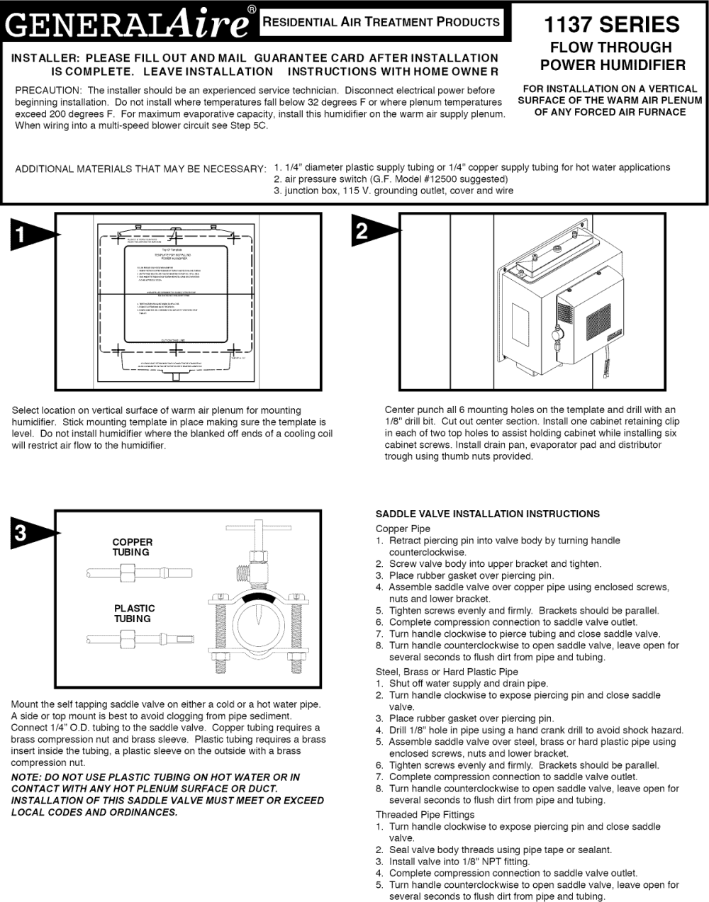 medium resolution of general 1137 humidifier wiring diagram