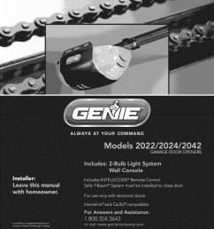 genie 2022 user manual weider home gym w stepper and vertical tech manuals guides 1102274l [ 1275 x 1651 Pixel ]
