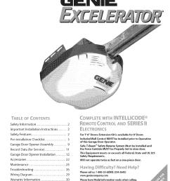 genie excelerator user manual garage door opener manuals and guides l0703287 [ 1224 x 1584 Pixel ]