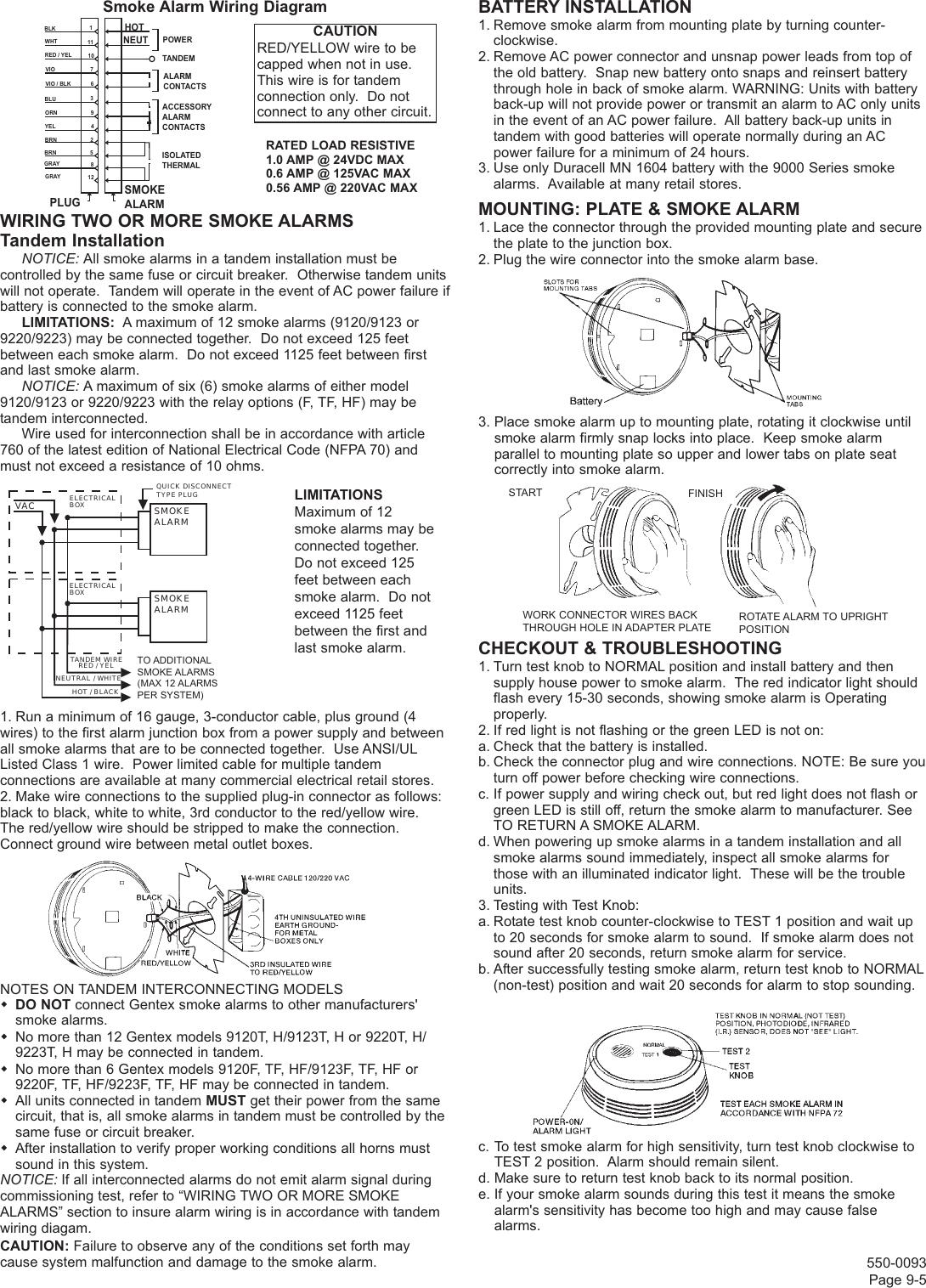 Gentex Fire Alarm Wiring Diagram