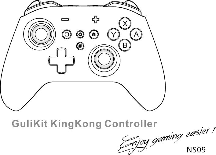 Guli Tech NS09 GuliKit KingKong PRO Controller User Manual