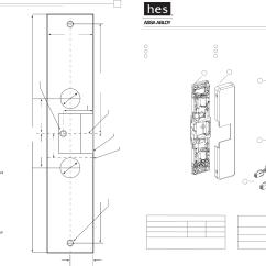Electric Strike Wiring Diagram Seven Pin Trailer Plug He S 9500