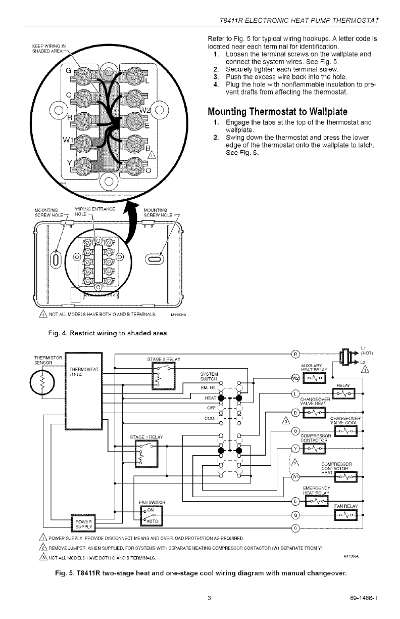 File: For Thermostat T8411r Wiring Diagram