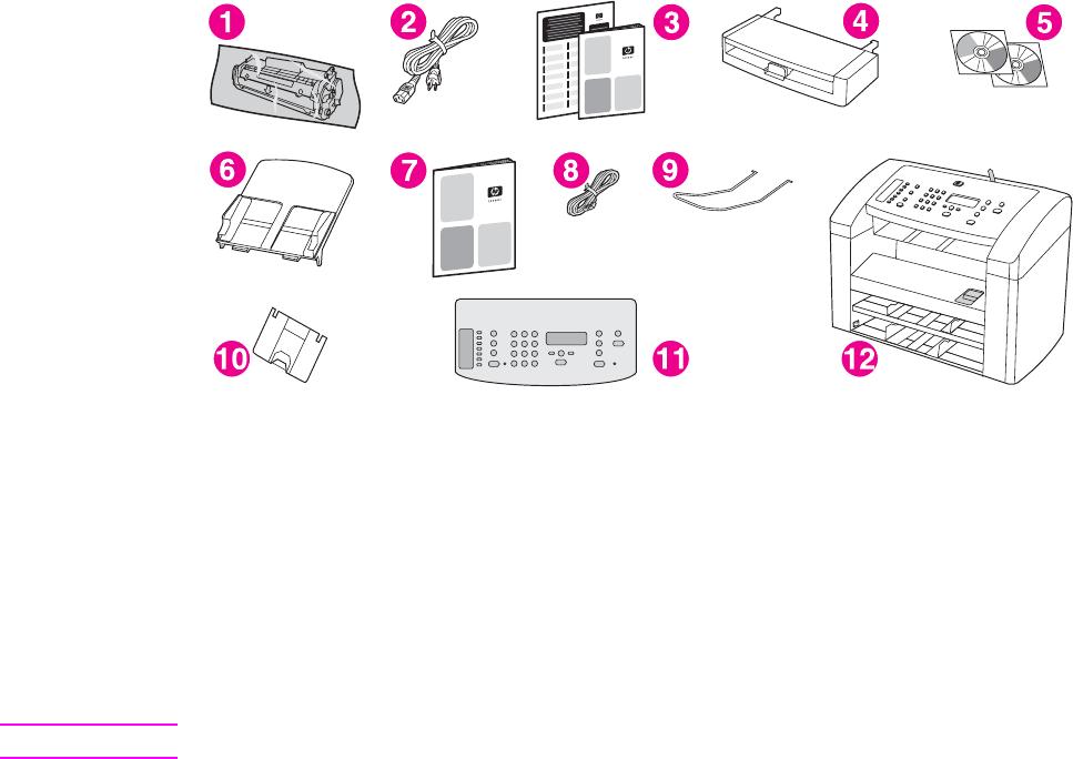 HP LaserJet 3015 User Guide ZHTW Laser Jet 多功能事務機 使用者指南