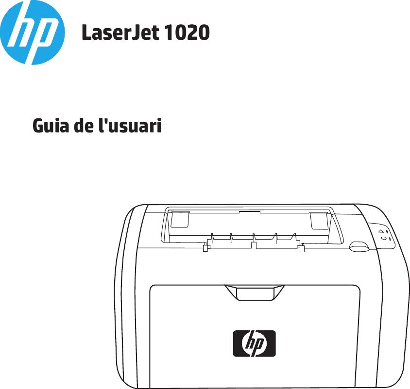 HP LaserJet 1020 User Guide CAWW Laser Jet Guia De L