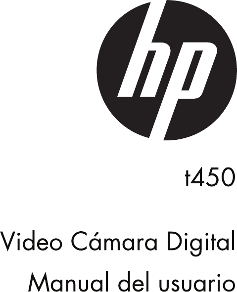 HP Videocámara Digital T450 Manual Del Usuario C03564709