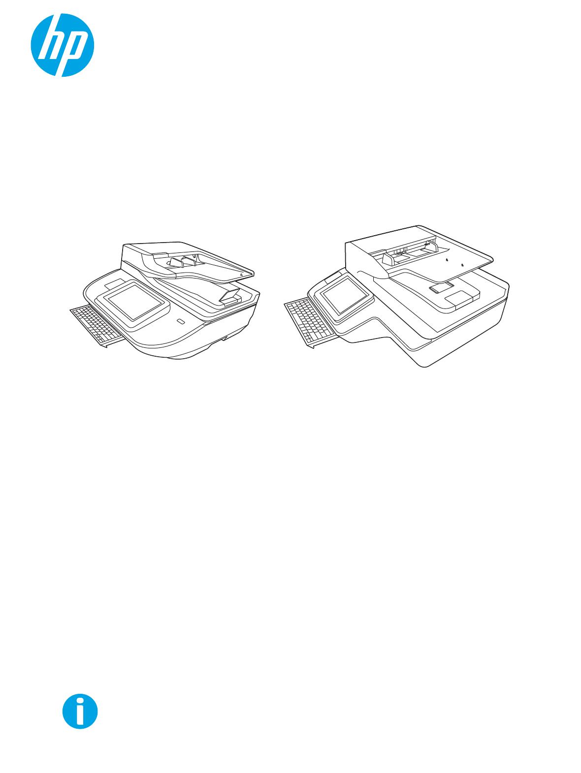 HP Digital Sender Flow 8500 Fn2 Capture Workstation