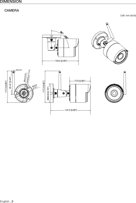 Hanwha Techwin SNC79440BWN DIGITAL COLOR CAMERA User Manual