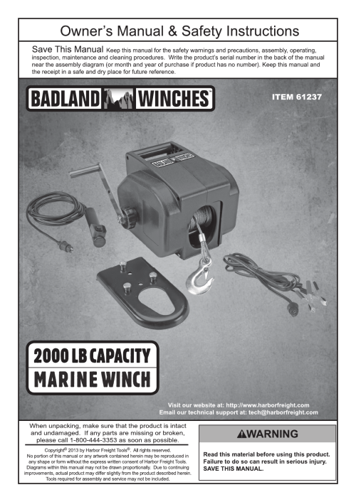 small resolution of badland 2000 lb winch wiring