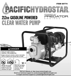 harbor freight 6 5 hp 212cc 2 in gas engine clear water pump 9540 clearwater pump wiring diagram [ 1110 x 1620 Pixel ]
