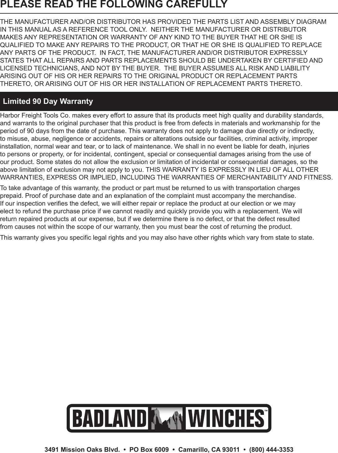 hight resolution of page 12 of 12 harbor freight harbor freight 96127 owner