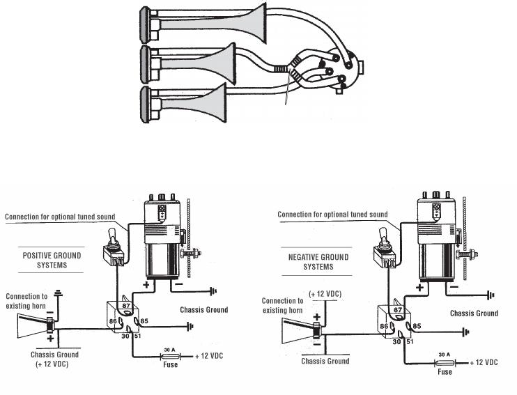 Wiring Diagram PDF: 12v Air Horn Wiring Diagram