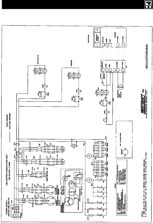 small resolution of heatcraft refrigeration products ii users manual h im 711c5 pm6 5heatcraft evaporator coil wiring diagram