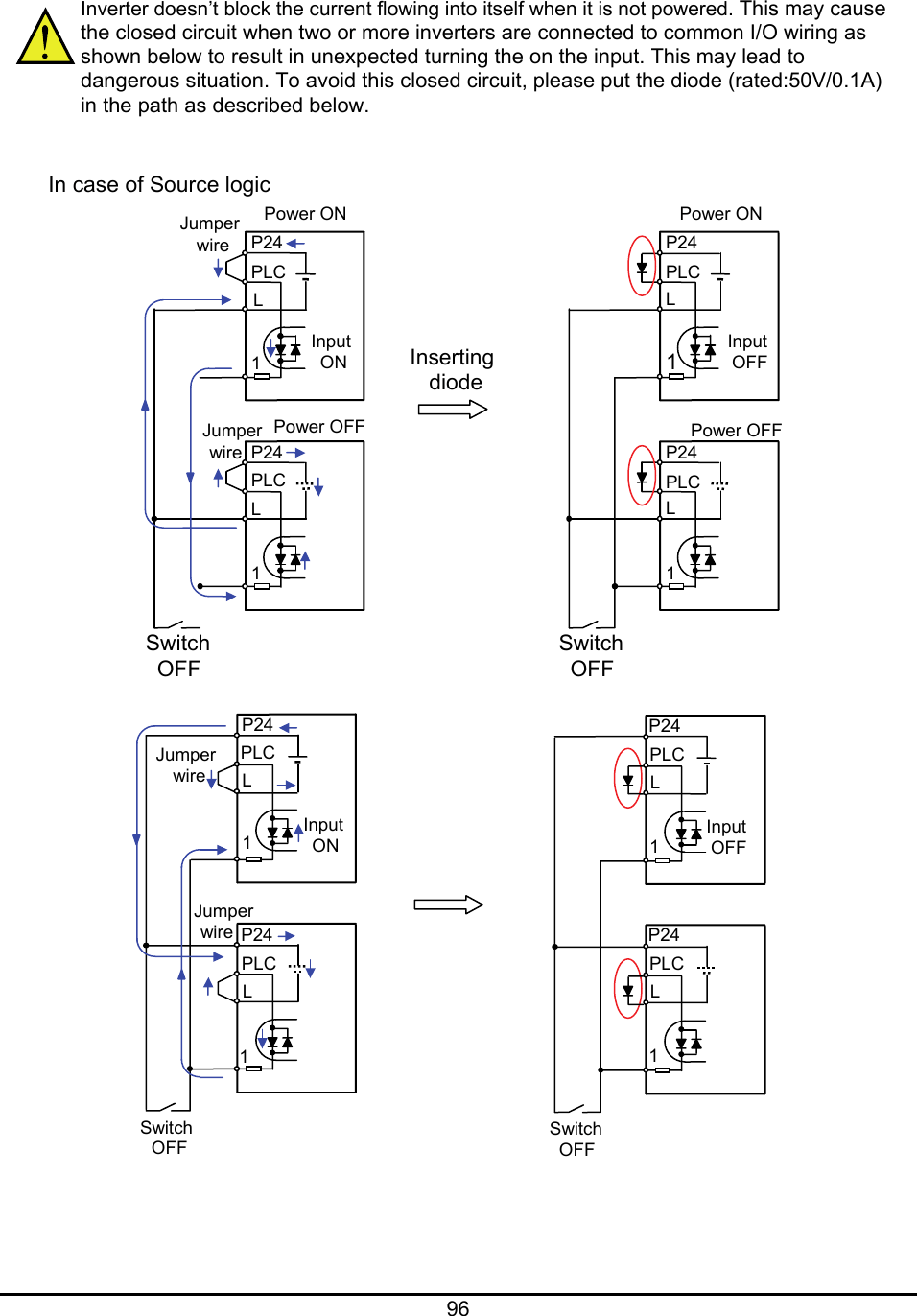 hight resolution of hitachi welding system series inverter users manual fig 1a schematic diagram of the power inverter use awg10 wire for