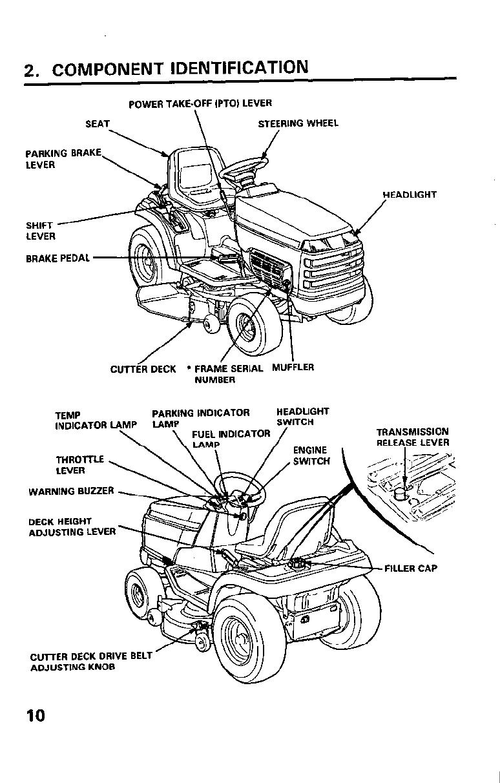 Honda H4514H 1000001 9999999 Owners Manual